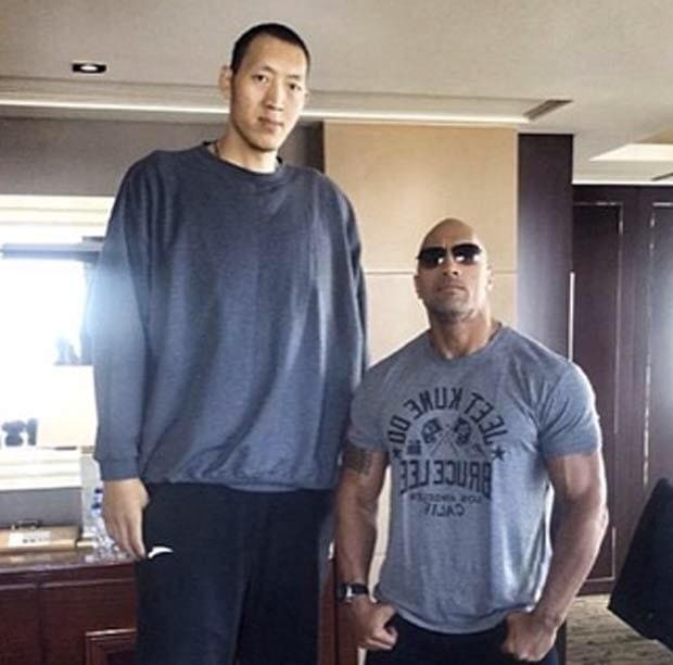 Sun Ming Ming and The Rock